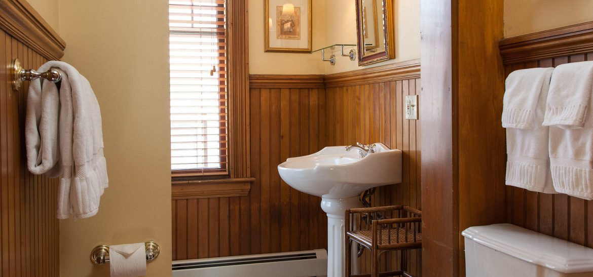 Bathroom in Fisher Room