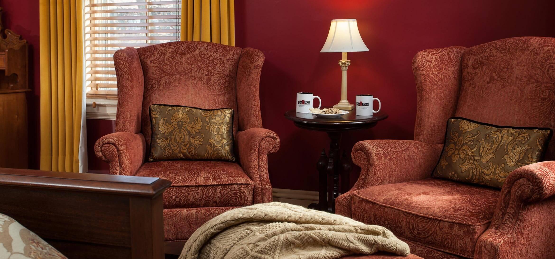 Allen Room sitting area