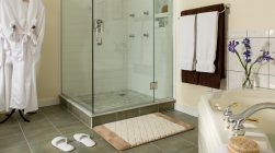 Garden Spa shower and bath