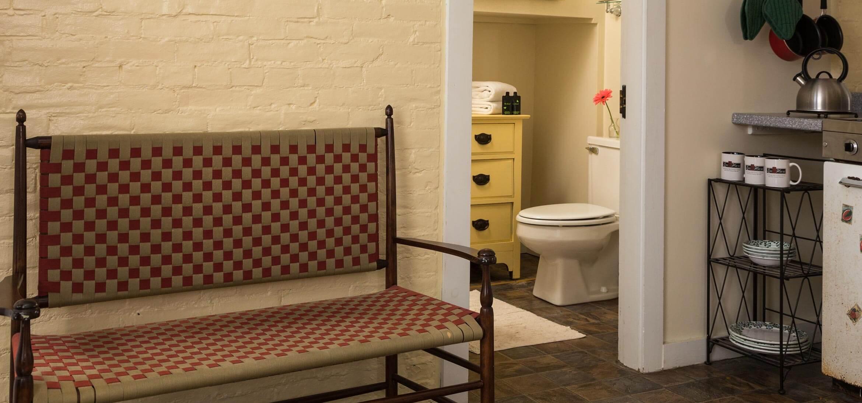 Garden Spa room bench
