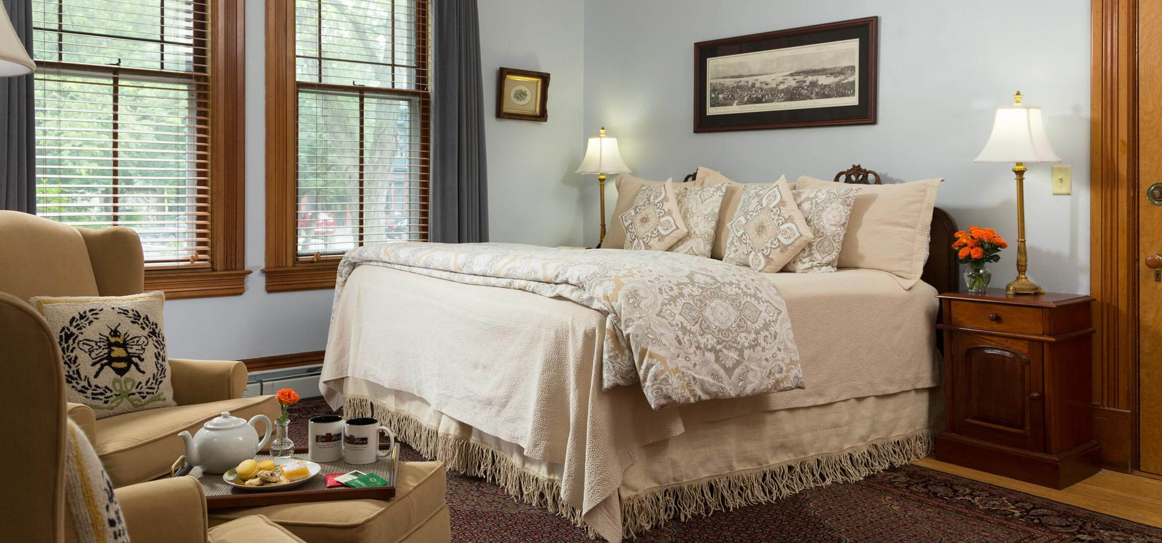 Reed Room bed