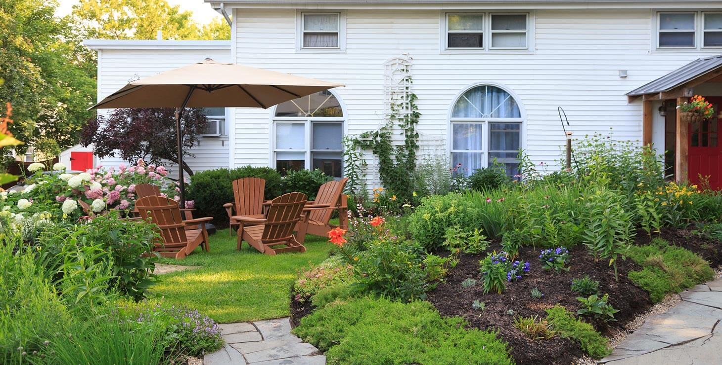 Gardens at Lang House