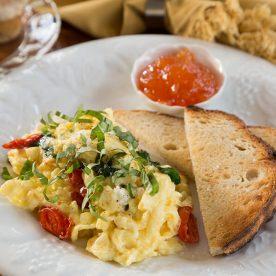 Lang House breakfast
