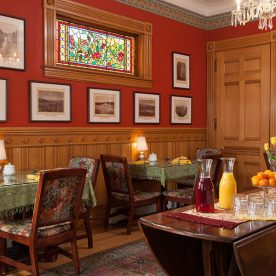 Dining room at Lang House