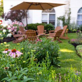 Lang House gardens
