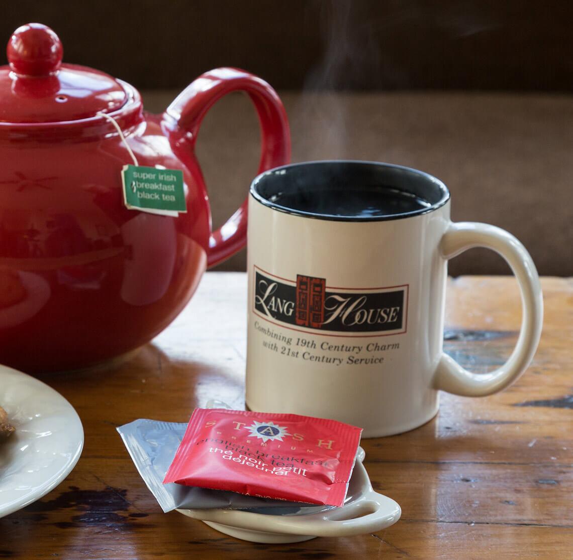 Lang House coffee mug