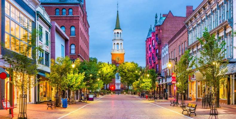 Burlington Vermont Downtown