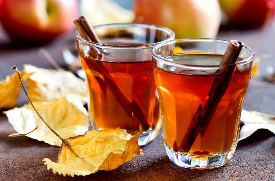 Delicious Apple Cider in Autumn