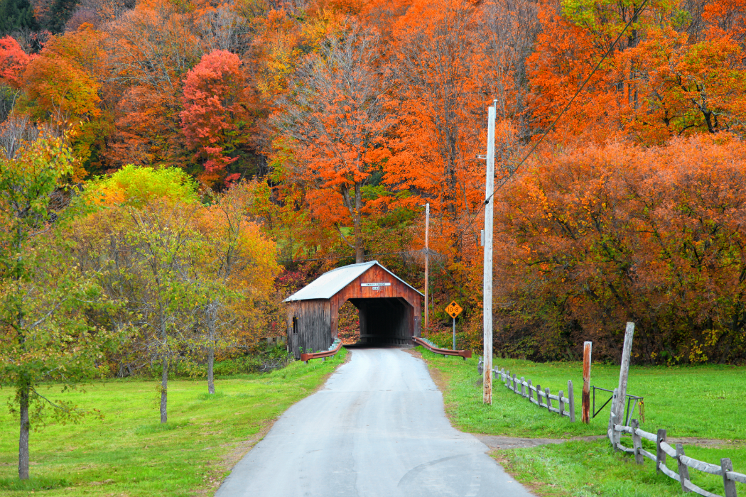 map of vermont covered bridges Fall Guide To The Covered Bridges Of Vermont map of vermont covered bridges