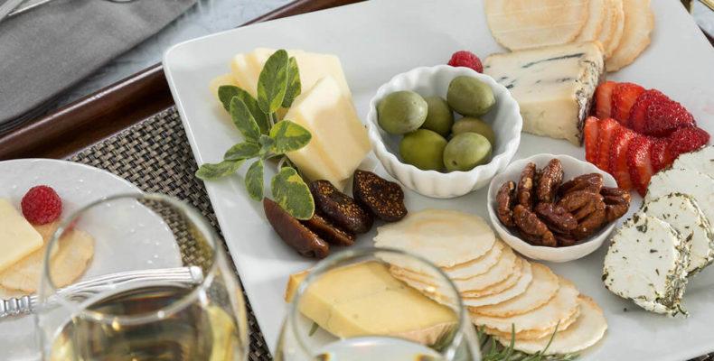 Artisanal Cheese Plate at Lang House