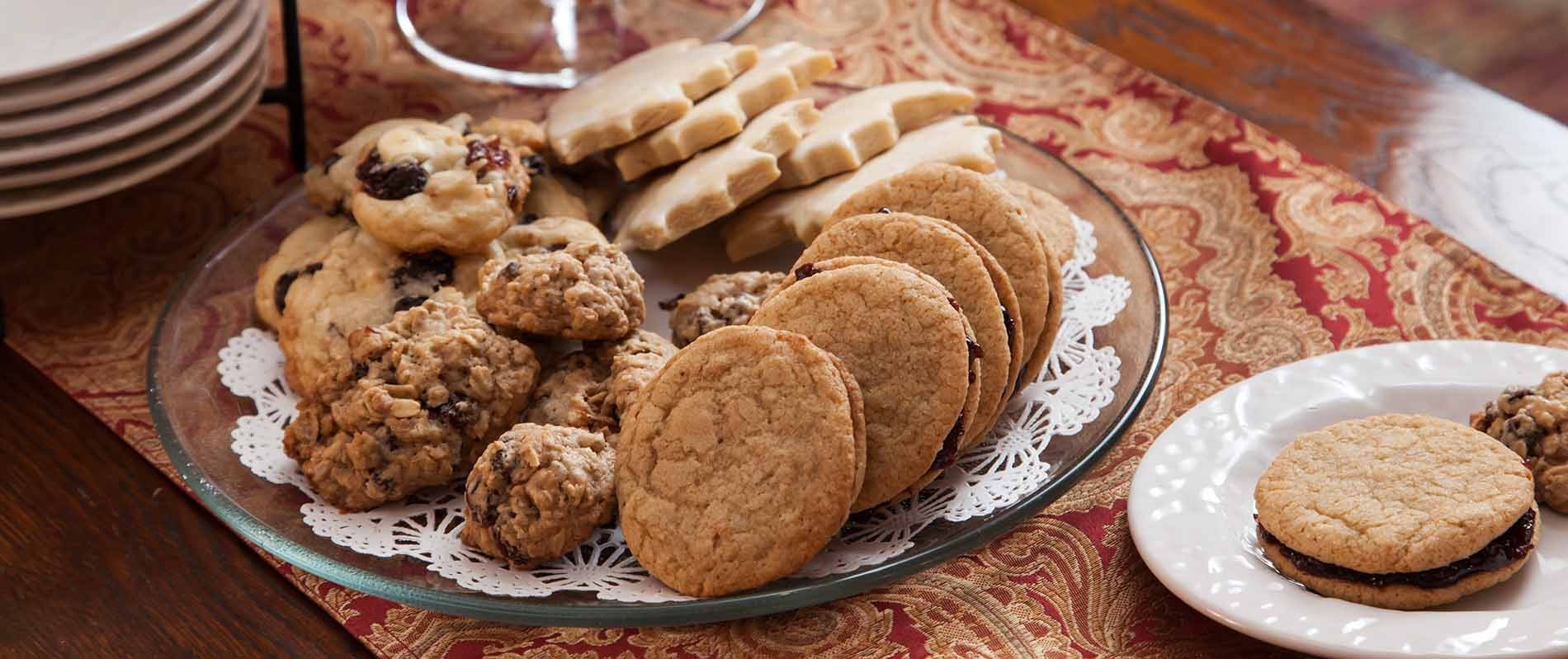 Burlington Bed and Breakfast Cookies & Snacks