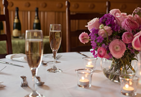 Champagne for an elegent Wedding in Burlington Vermont
