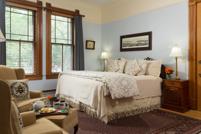 Reed Room in a Burlington Vermont Bed and Breakfast
